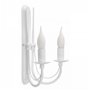 Lampy w stylu Shabby Chic, np. kinkiet podwójny Agaton