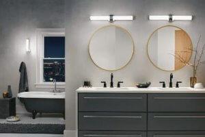 Pomysły Oświetlenia łazienki Kinkiet łazienkowy Zawsze W