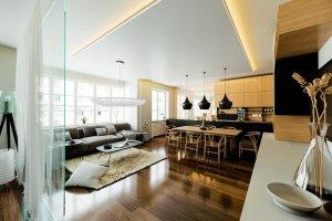 podwieszany sufit LED
