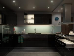 Oświetlenie blatów kuchennych