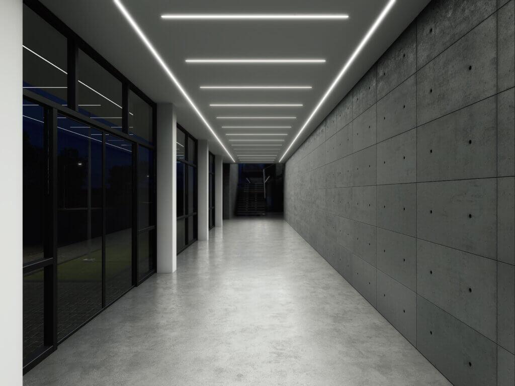 profil LED wpuszczany